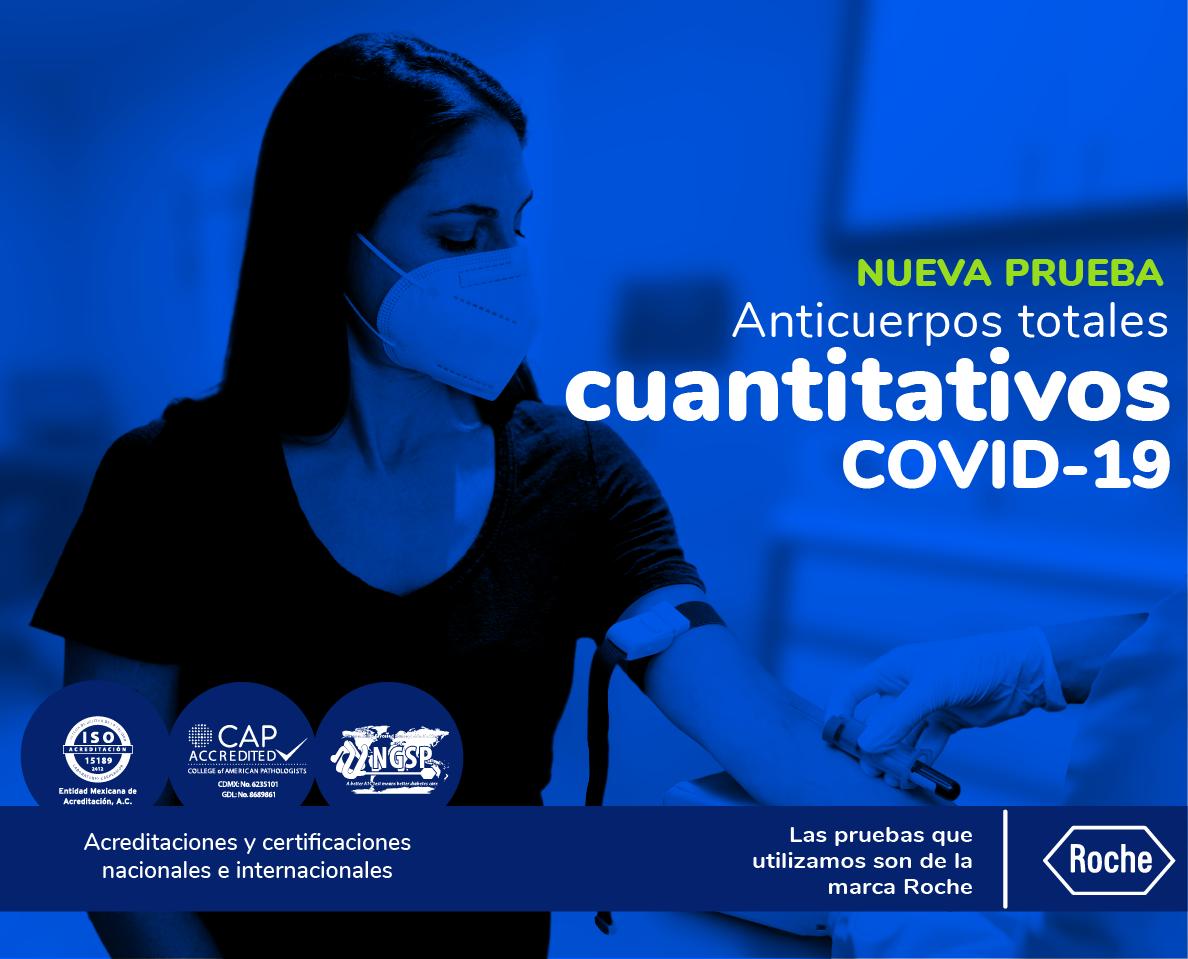 Anticuerpos cuantitativos Covid-19