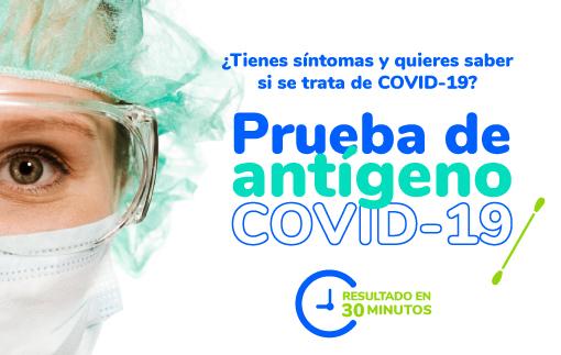 Prueba Antígeno de Covid-19