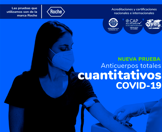 Anticuerpos totales cuantitativos COVID-19